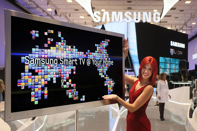 smart tv samsung espia