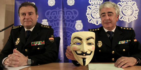 anonymous policia