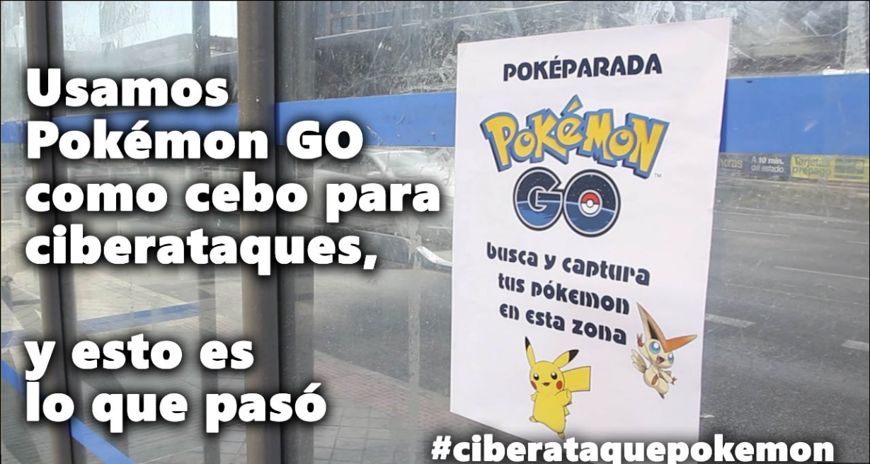 pokemon go ataque pokeparada