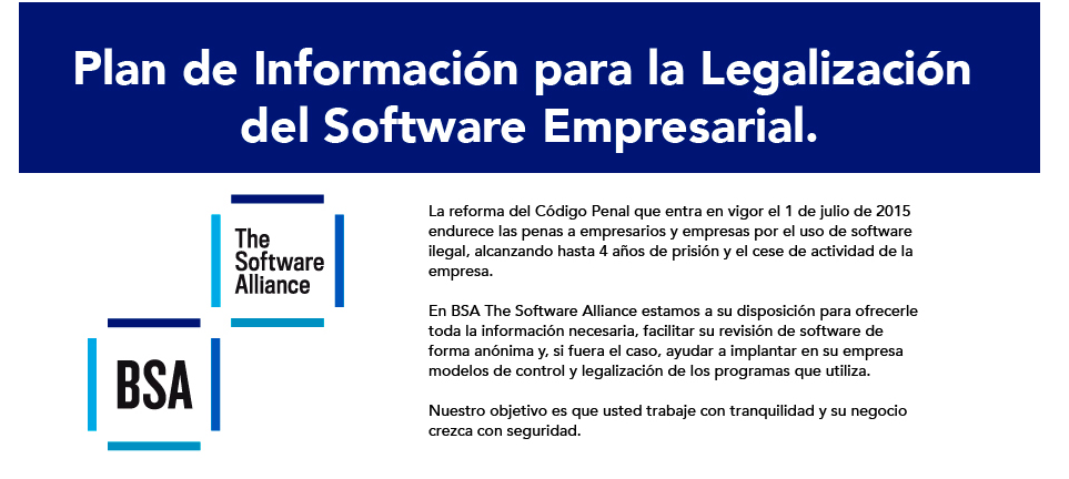 bsa ley software