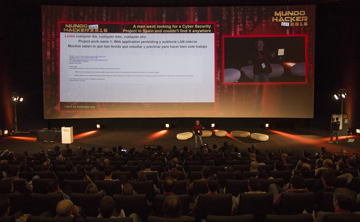 Charla Antonio Mundo Hacker day 2016